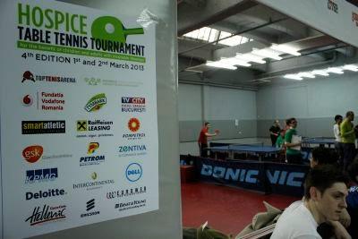 Turneul de Tenis de Masa HOSPICE