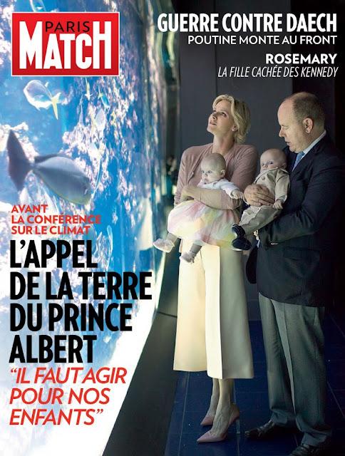 Princess Charlene Princess Gabriella Prince Jacques oceanographic museum Monaco