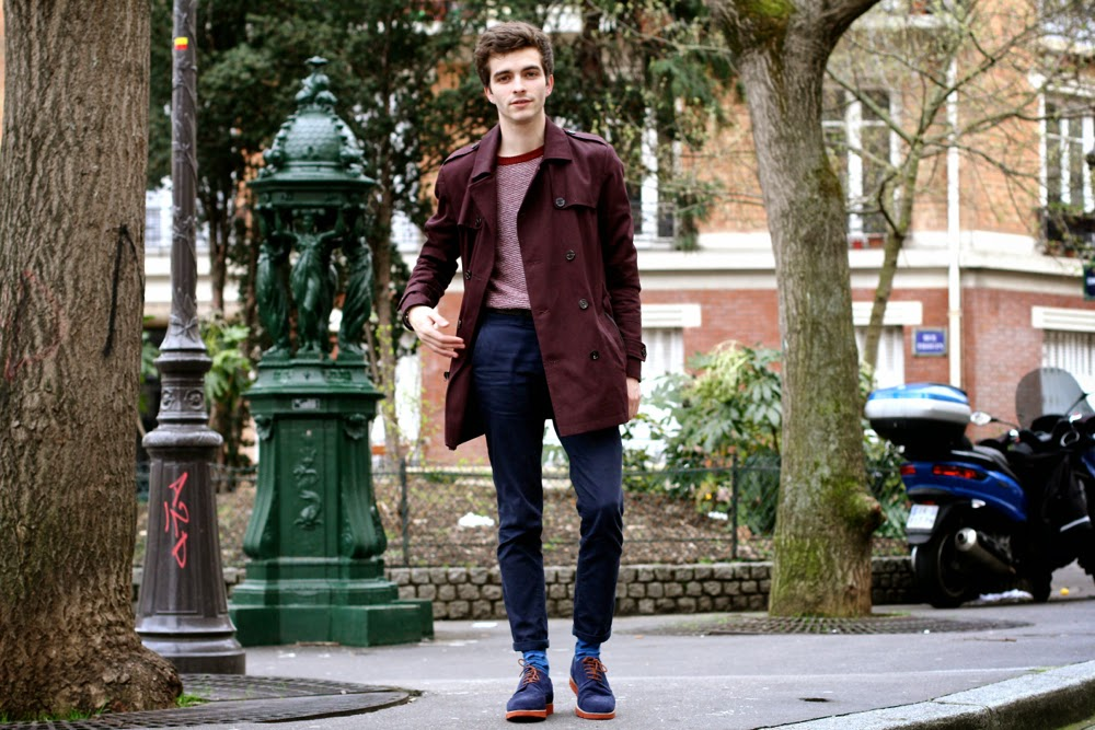 BLOG-MODE-HOMME-PREPPY-PARIS-MENSFASHION_RiverIsand-trench-coat_Le-mont-saint-michel-pull-angora-menottes-dinh-van-skinny-jeans-monderer-chaussures-hybrides-célioclub1