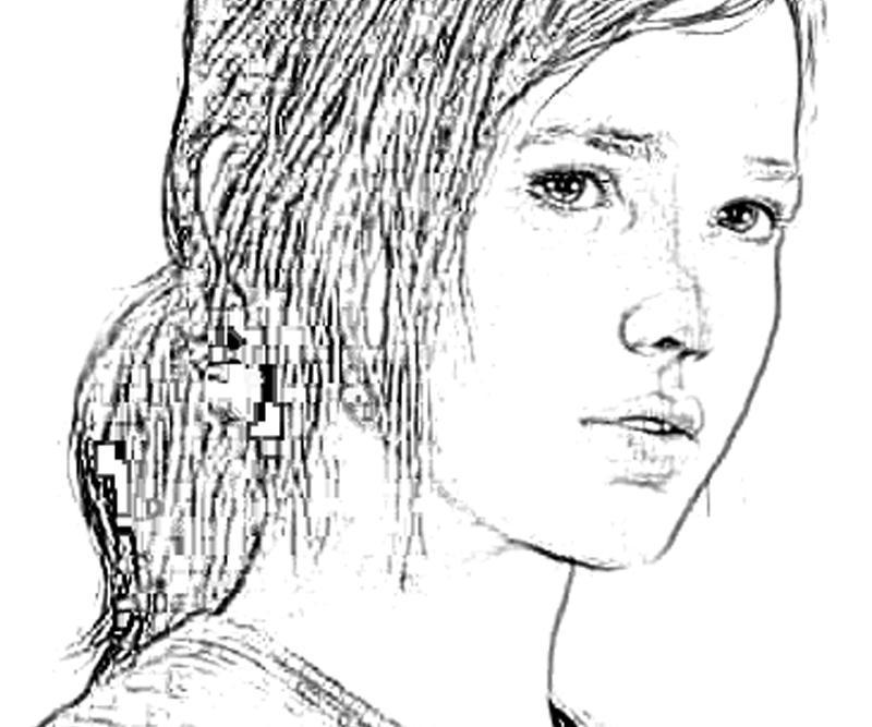 printable-last-of-us-ellie-character-bw_coloring-pages