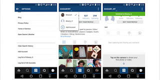 "Instagram Bisa ""Multiple Account"" di Android"