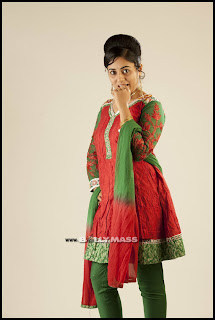 Lakshmi Menon Latest Picture Shoot Gallery in Beautiful Red Salwar Khameez