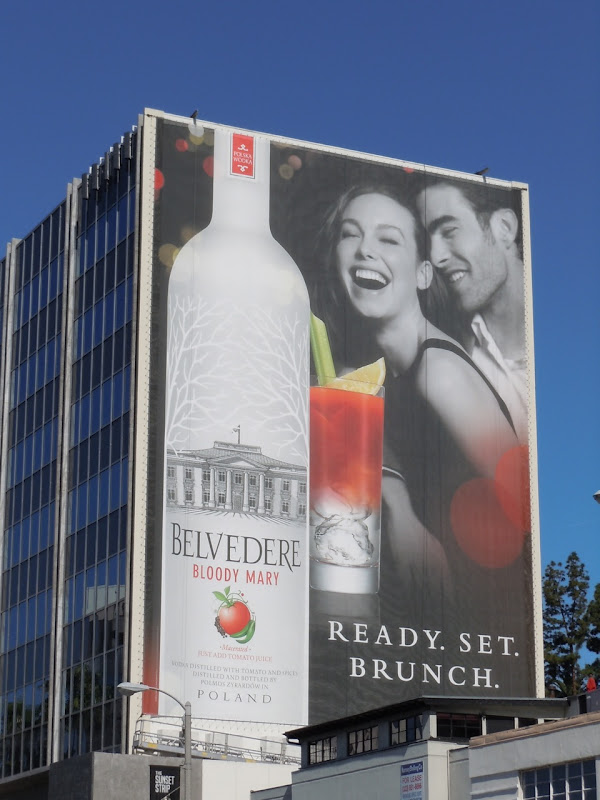 Bloody Mary Belvedere billboard