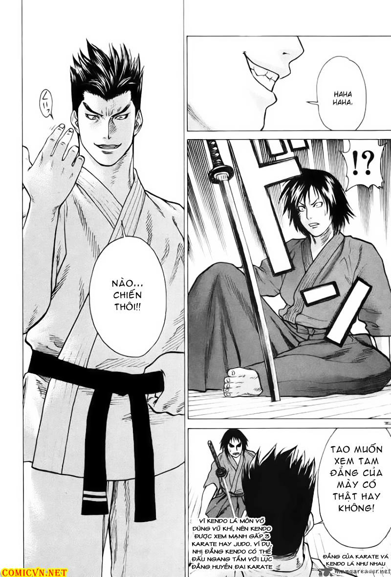 Karate Shoukoushi Kohinata Minoru chap 27 Trang 9