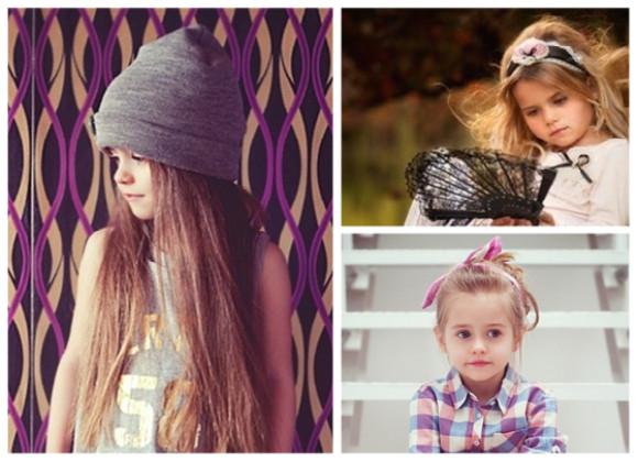 peinados infantiles con accesorios 2013