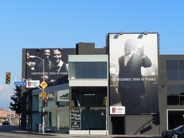 Ketel One Vodka billboards