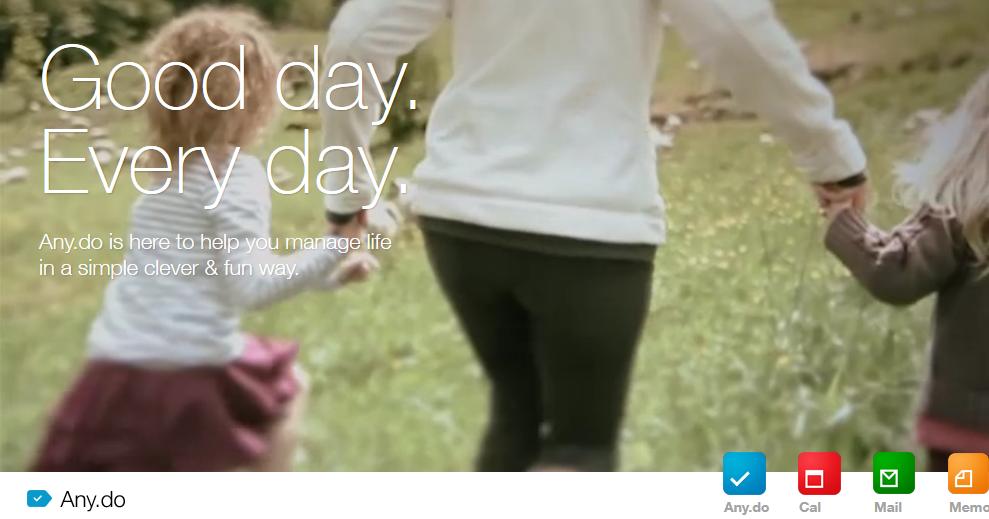 用簡單生活理念設計的日曆 App: Cal 來自 Any.Do 的行事曆