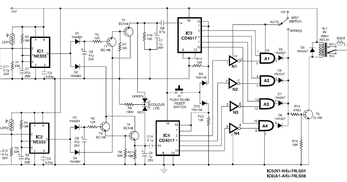 ece circuits  automatic room power control