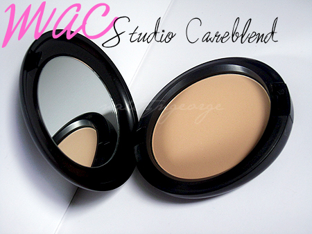 mac studio careblend powder review