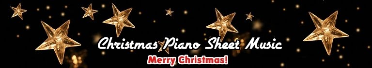 Xmas Piano Sheet Music