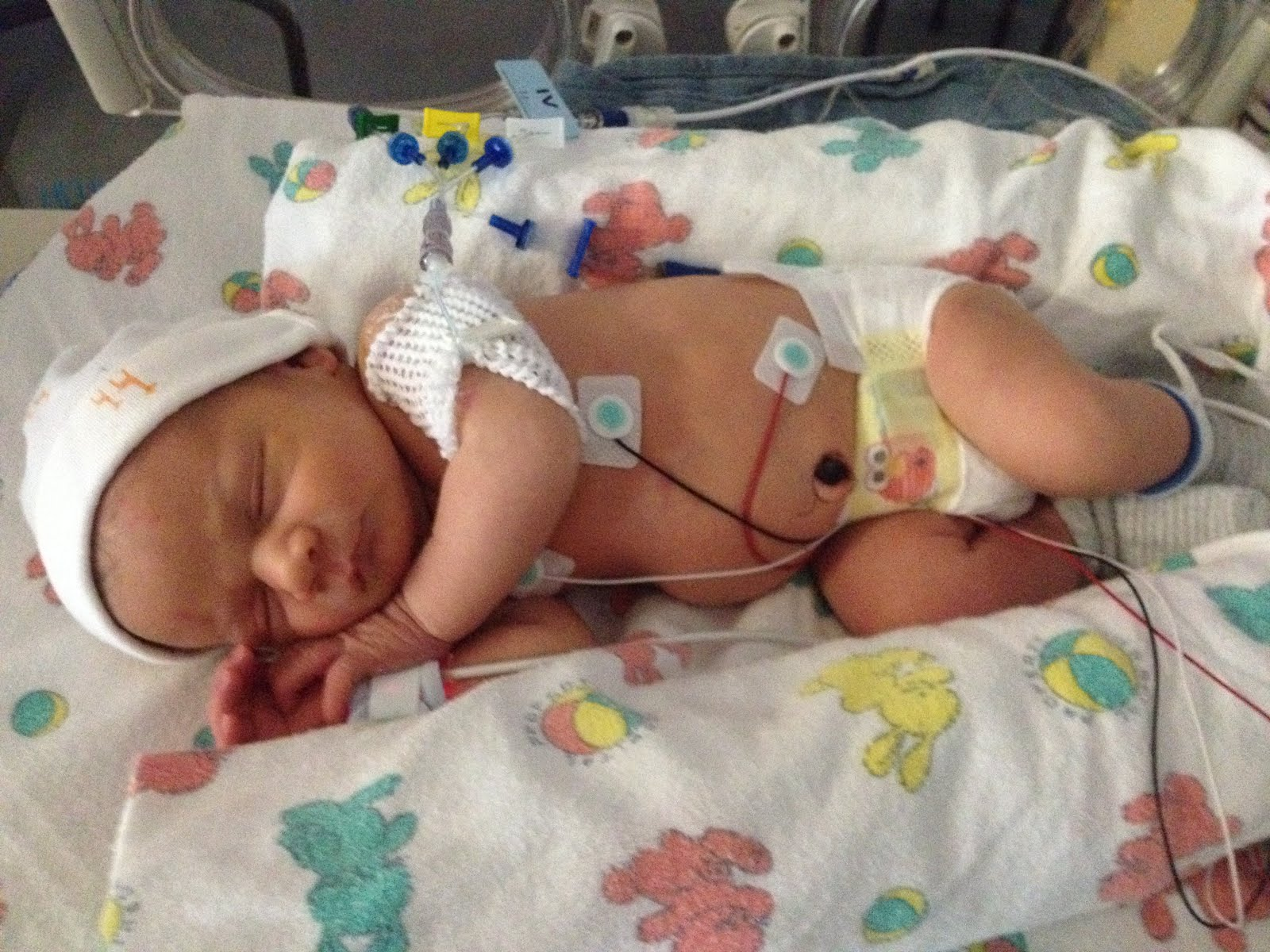 Ty in the NICU