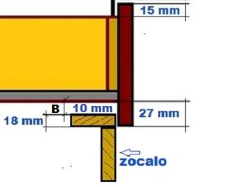 Muebles de cocina detalle para instalar cajones for Planos de roperos en melamina gratis