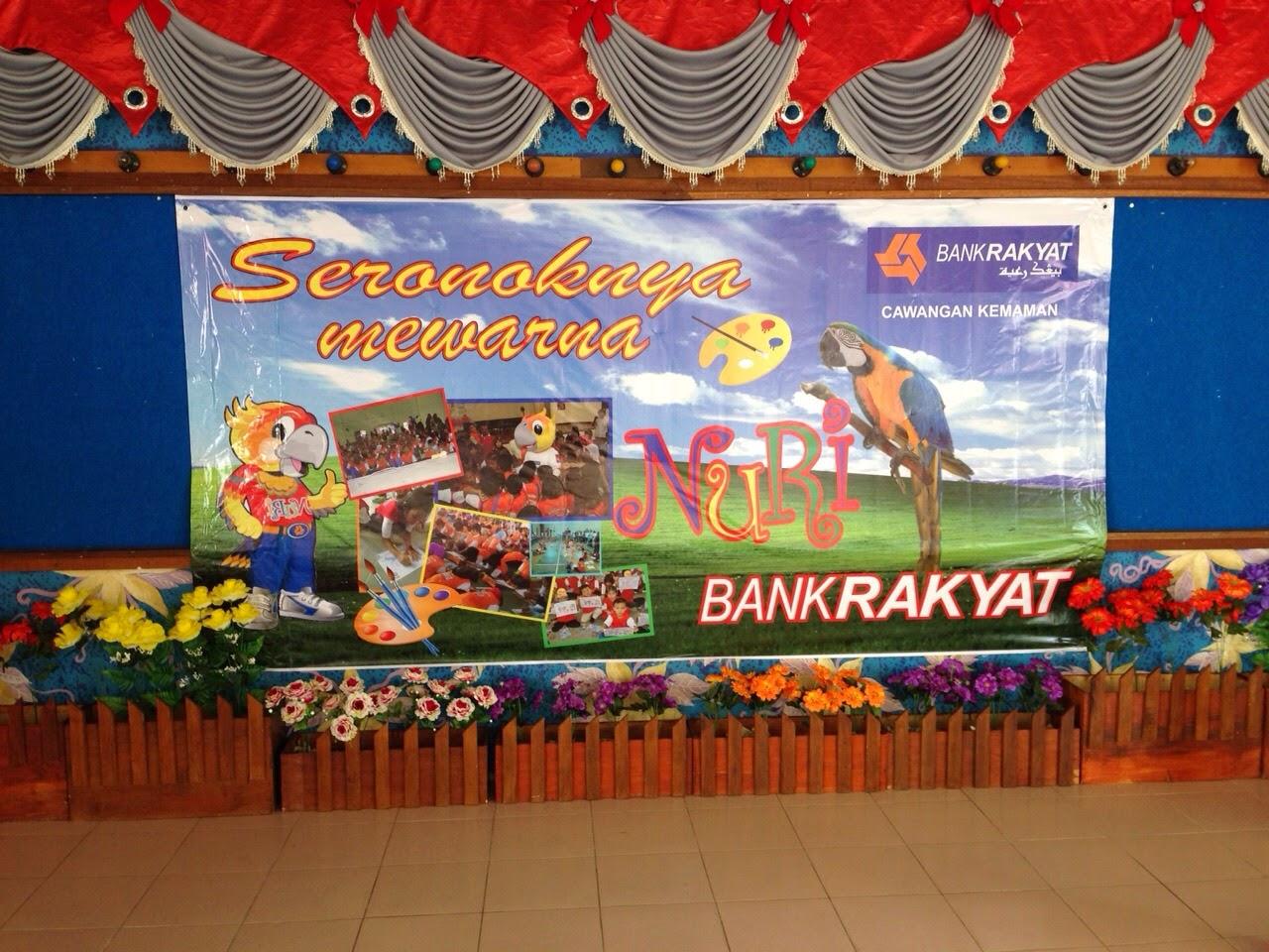 Pertandingan Mewarna PraSekolah Seri Geliga Bersama Bank Rakyat