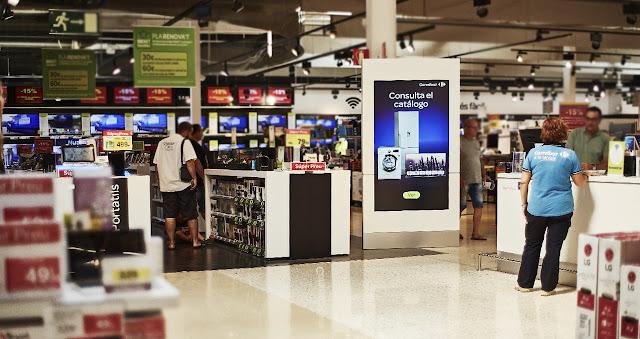 La implantación de este proyecto convierte a Carrefour en un referente del digital retail en España.