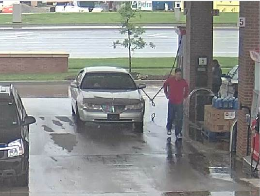 The Overland Park Police Department: Help Us Identify Thief Using Stolen Credit Card