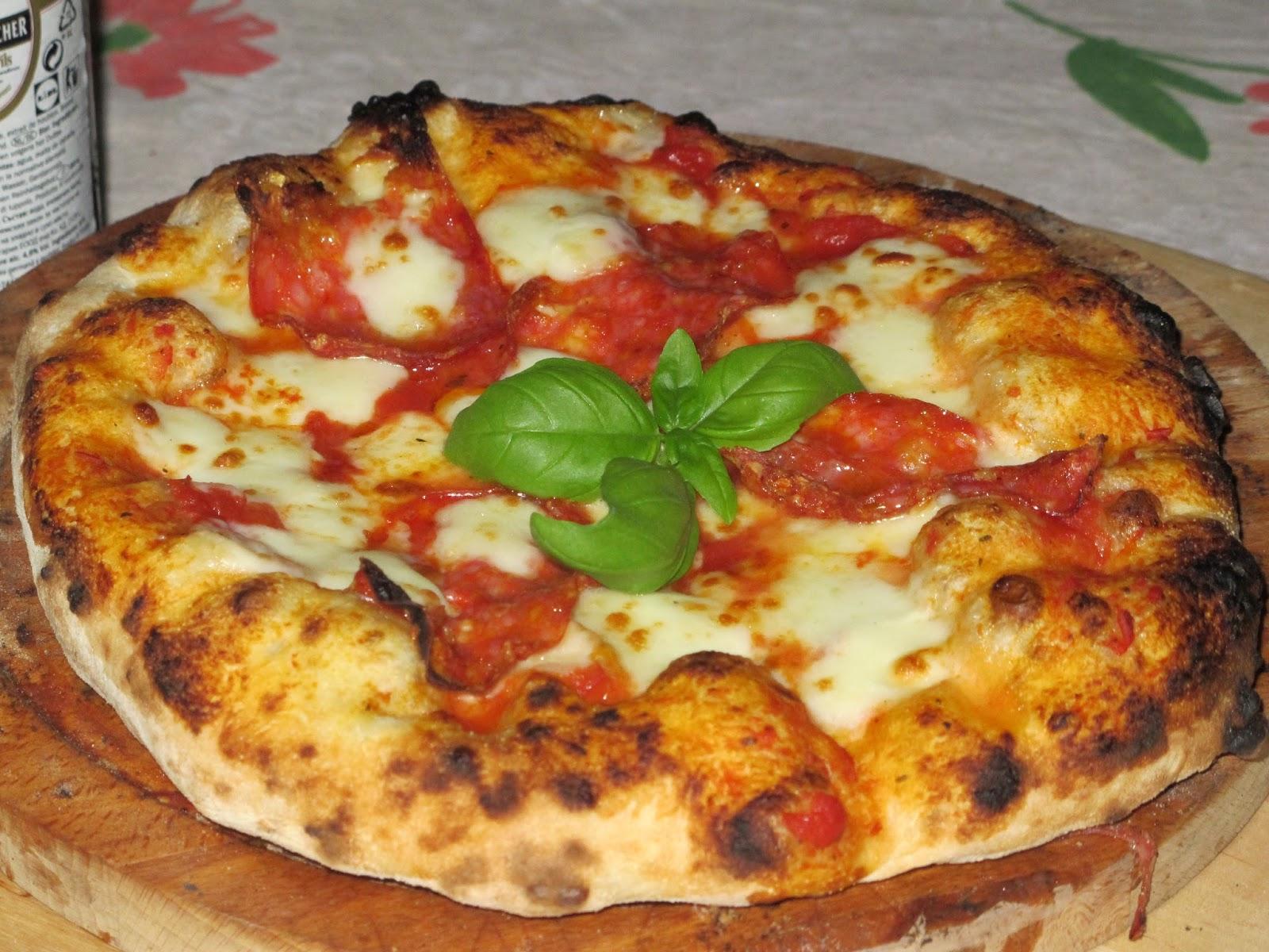 Il sapore della terra pizza in forno a legna - Temperatura forno a legna pizza ...