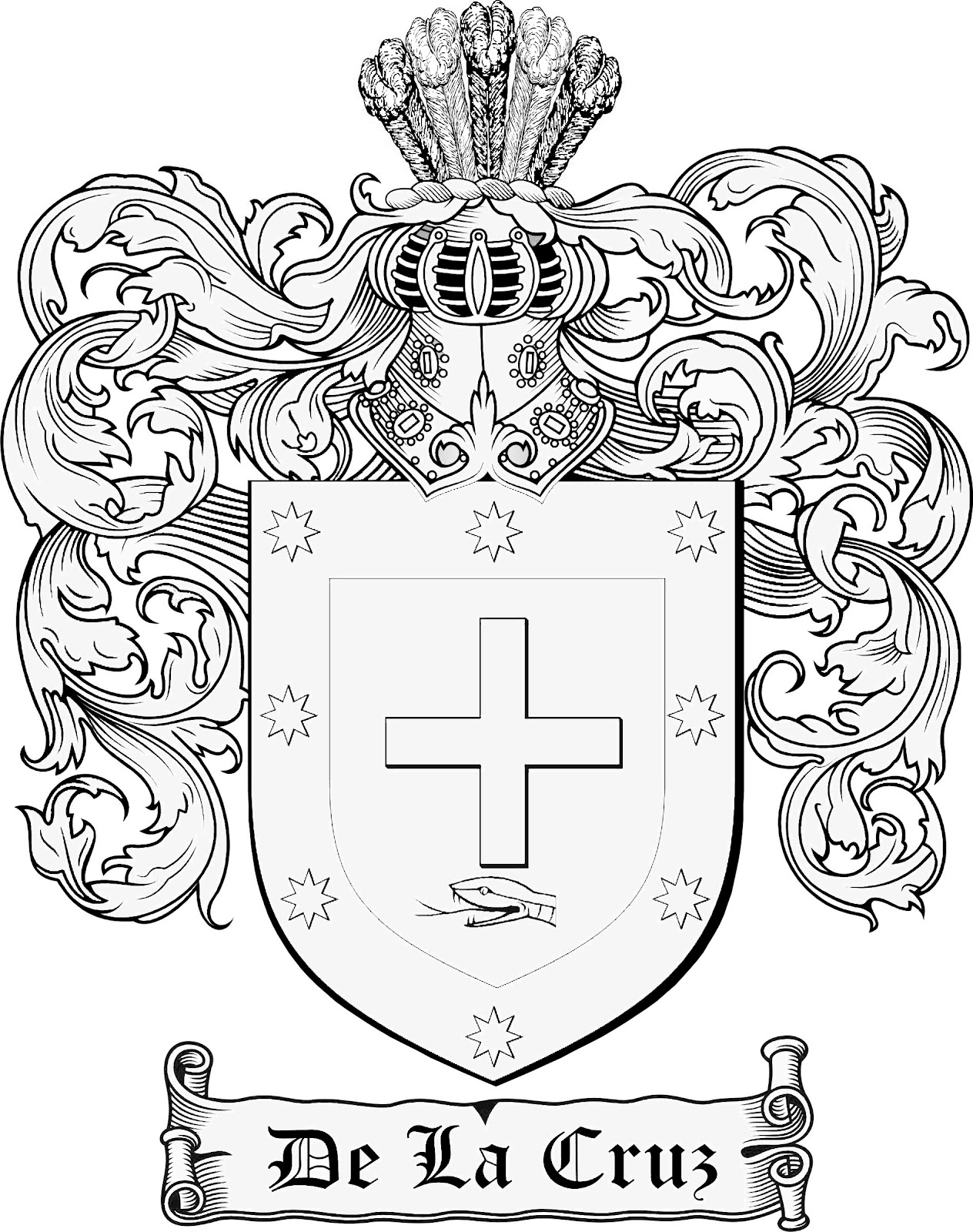 Displaying 19> Images For - Medieval Family Crest Template...