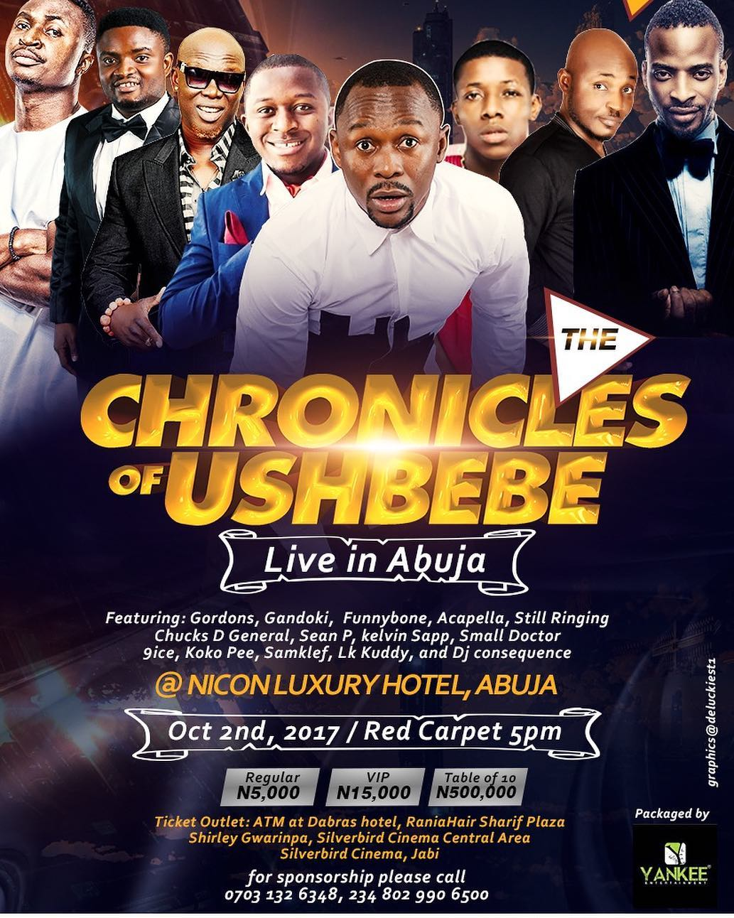 Chronicles Of Ushbebe: Live In Abuja