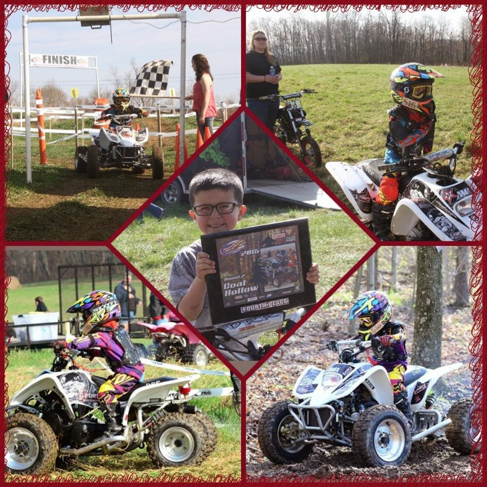 Austin on his drr 50 at AWRCS rd2 Wellsville Ohio April 18 2015... His first race of the year.. Did great got faster and faster as the race went on.. Ended up with a 4th place finish out of 5...Good job buddy. #DRR #DRRUSA #DRRracing