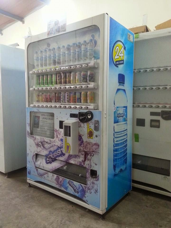 harga vending machine
