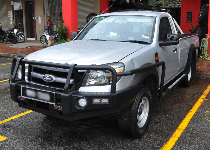 top up 4x4 centre ford ranger 2008. Black Bedroom Furniture Sets. Home Design Ideas