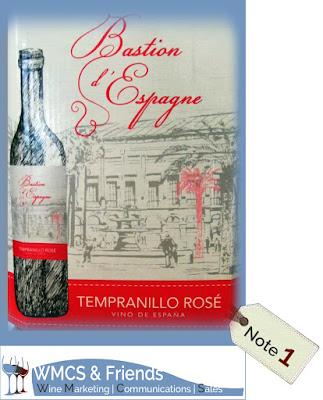 Bastion d'Espagne Tempranillo Rosé Spanien