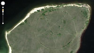 Hallan una misteriosa estrella gigante en Google Maps: ¿Barbacoa de carne humana?