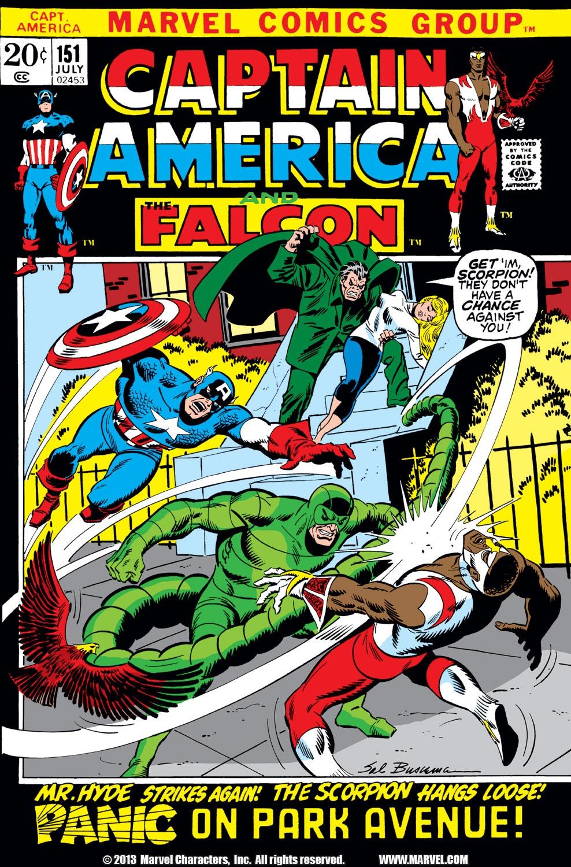 Captain America (1968) Issue #151 #65 - English 1