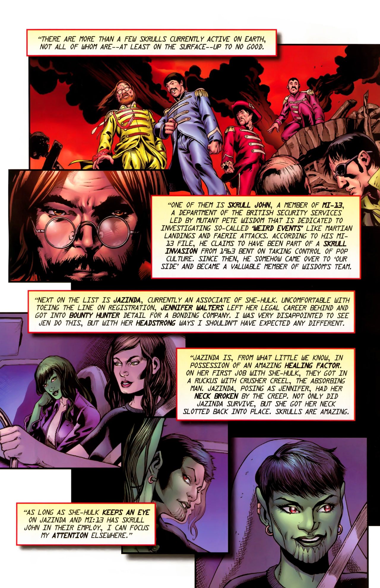 Read online Secret Invasion: The Infiltration comic -  Issue #11 - 20