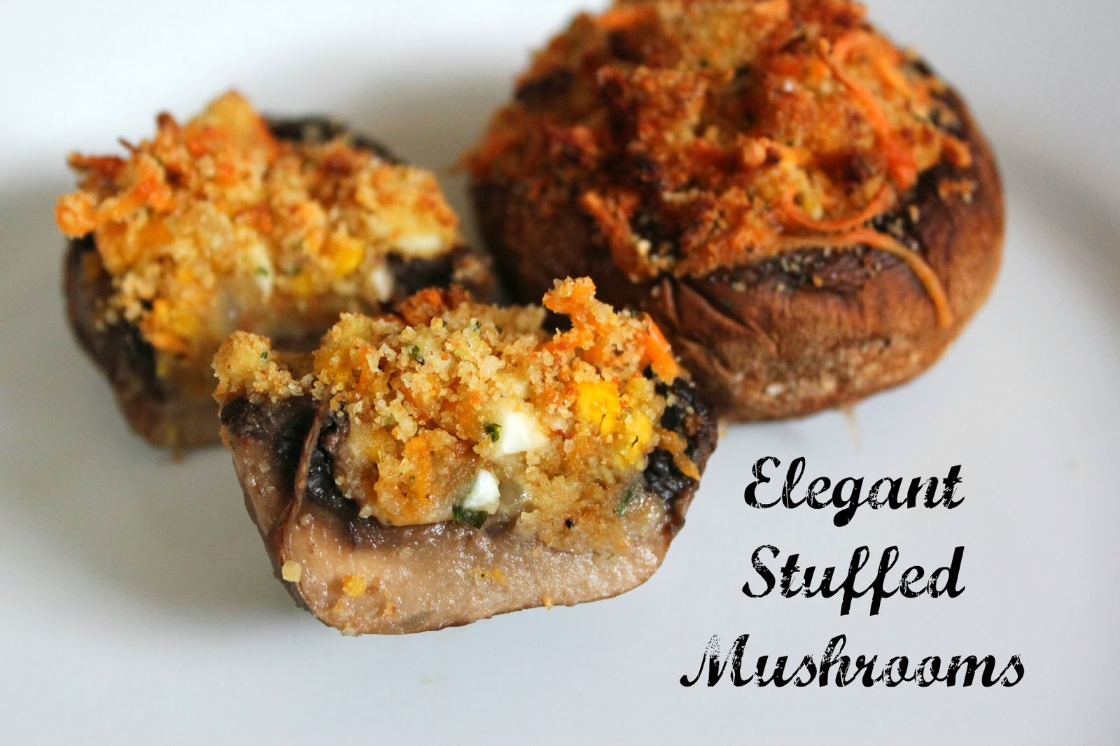 Lille Punkin': Easy Holiday Appetizer: Elegant Stuffed Mushrooms
