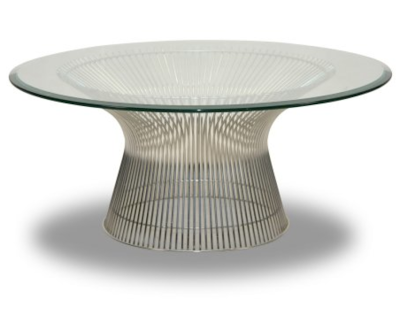 THE FOUNDARY STAINLESS STEEL COFFEE TABLE
