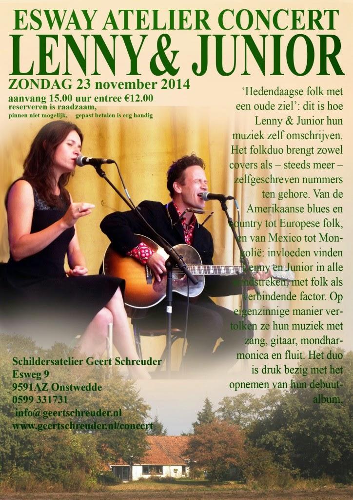 Esway Atelier concert 23 november