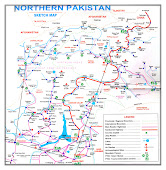 Map of Pakistan & Gilgit-Baltistan