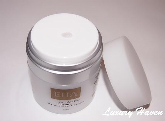 eha clinic restore anti-aging whitening moisturizer