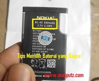 Tips Memilih Baterai HP
