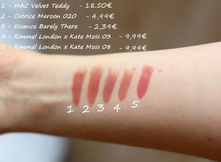 kylie jenner lipstick velvet teddy review