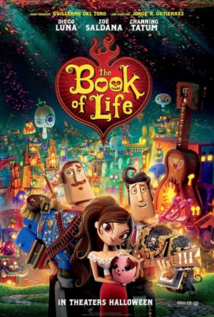 The Book of Life 2014 poster