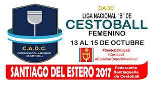 CADC Liga Nacional B de Cestoball Femenino