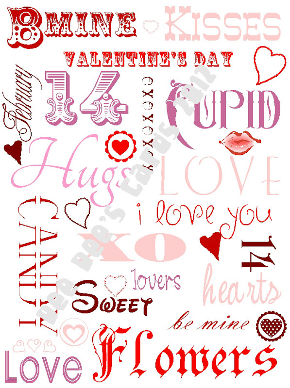 Scrappin with deedee valentine subway art freebie my valentine decor this year so i tried my hand at subway art and this is what i came up with i hope you like it and enjoy a freebie for yourself solutioingenieria Image collections