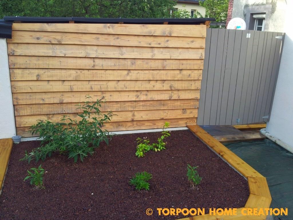 torpoon home creation: terrasse en palettes et salon d'été
