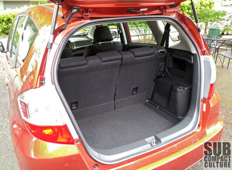 The Fit Has A Good Bit Of Cargo Space.