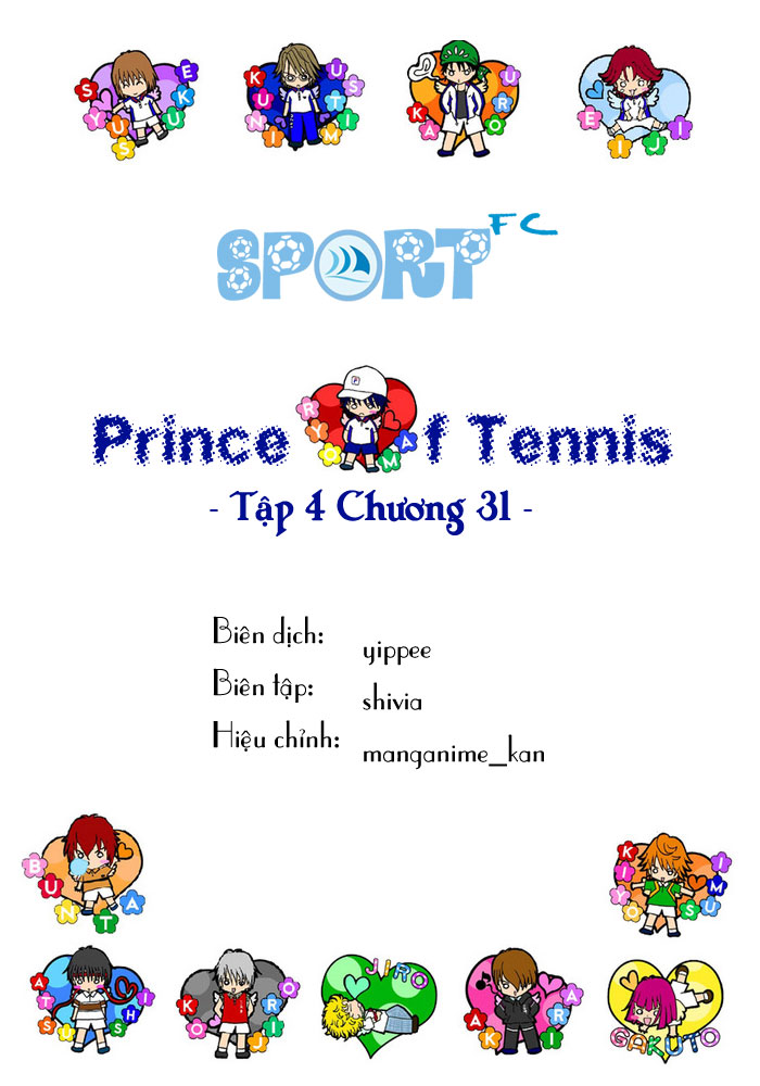 Prince of Tennis chap 31 Trang 1
