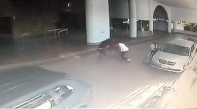 VIDEO. La version de la bagarre diffusée par La Fouine