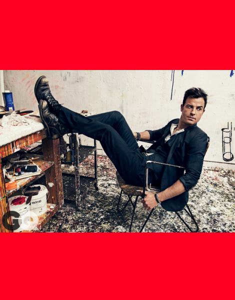 Justin Theroux by Sebastian Kim for GQ October 2013