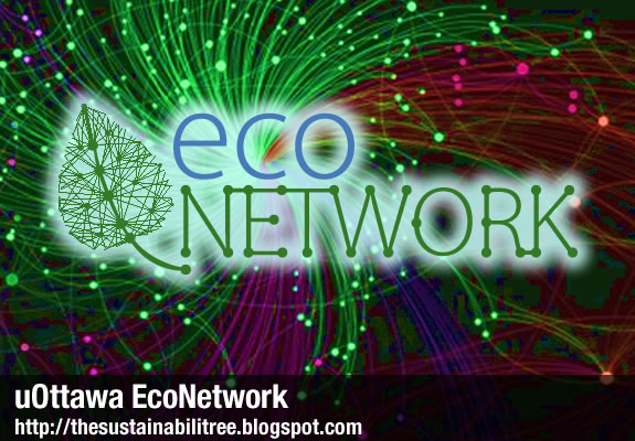The University of Ottawa's EcoNetwork is a network of campus community members that work on creating a more sustainable campus through focused and engaged actions.