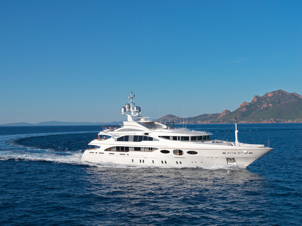 ... Latitude, the 52.5m Benetti superyacht, recently became the first yacht ...