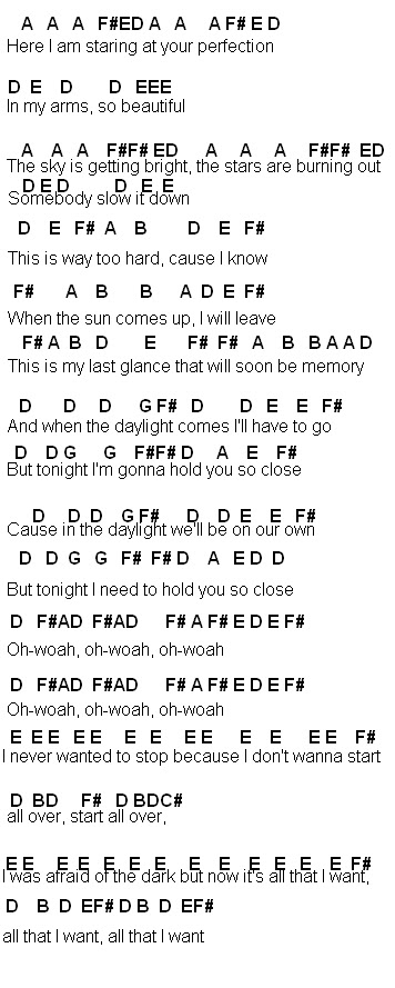 Flute Sheet Music Daylight