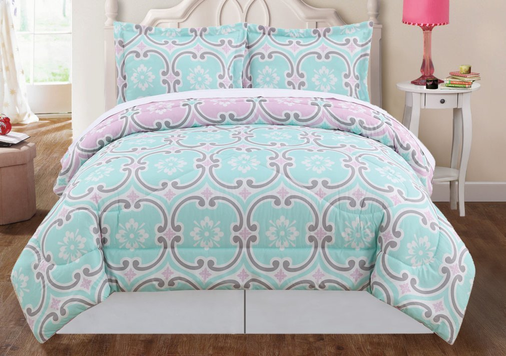 blush set grey pink sets bedding comforter cheap and