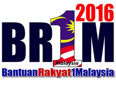 Tarikh Rasmi Pembayaran BR1M 2016