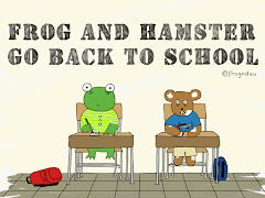 Frog and Hamster Go Back to School: Chapter 1